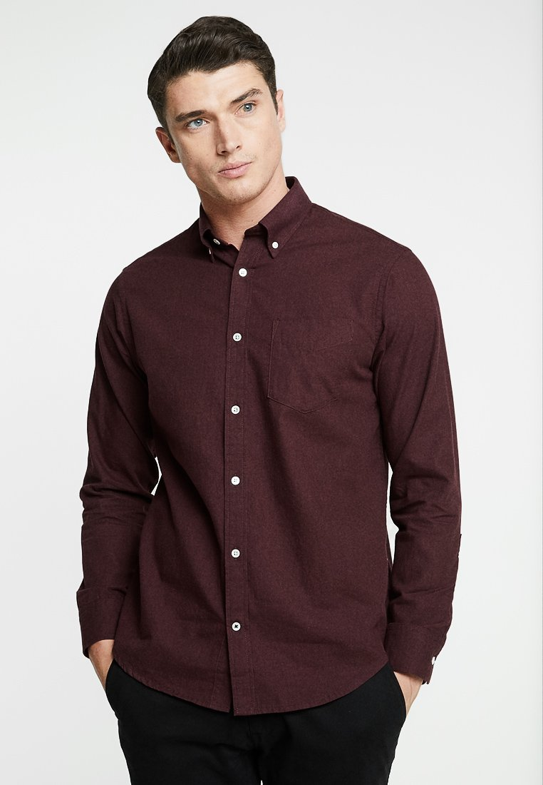 NN07 - LEVON - Camisa - oxblood red