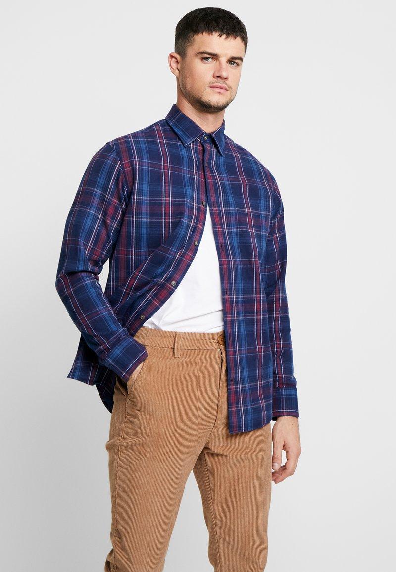 NN07 - ERRICO - Camisa - blue