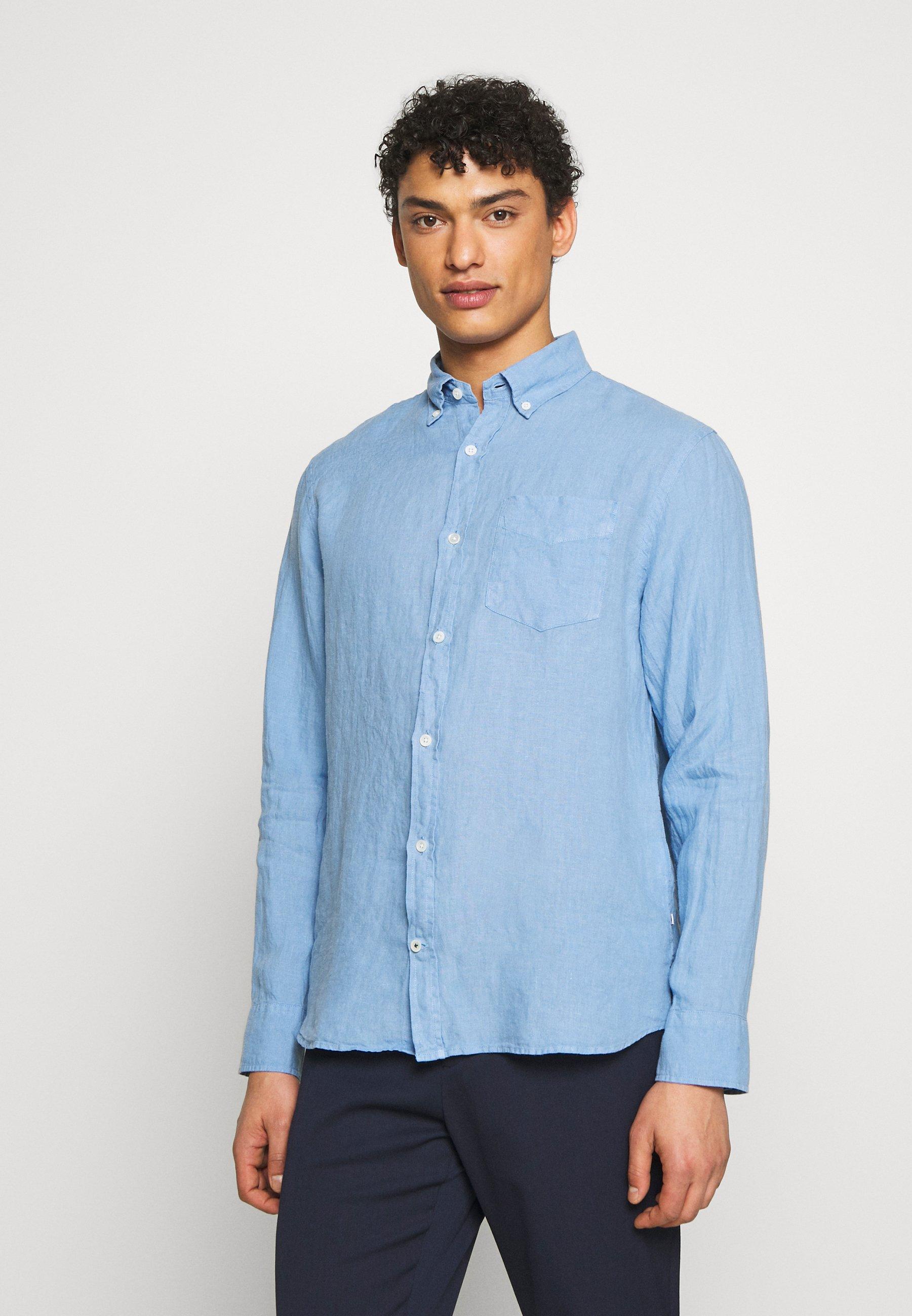 NN07 LEVON - Koszula - blue