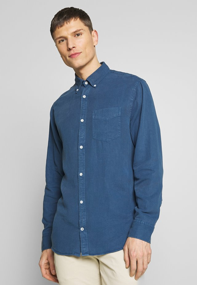 LEVON - Camicia - washed navy