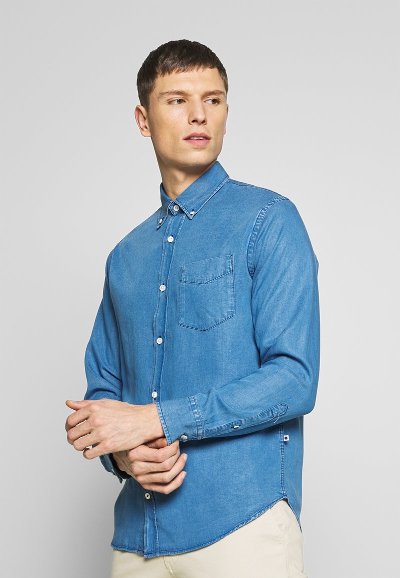 NN07 - LEVON SHIRT - Camisa - light blue