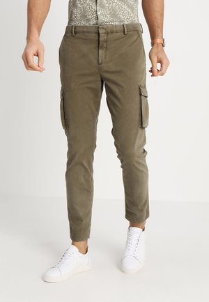 DJANGO PANTS  - Cargo trousers - dark olive
