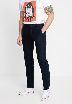 KARL - Pantalones chinos - navy blue