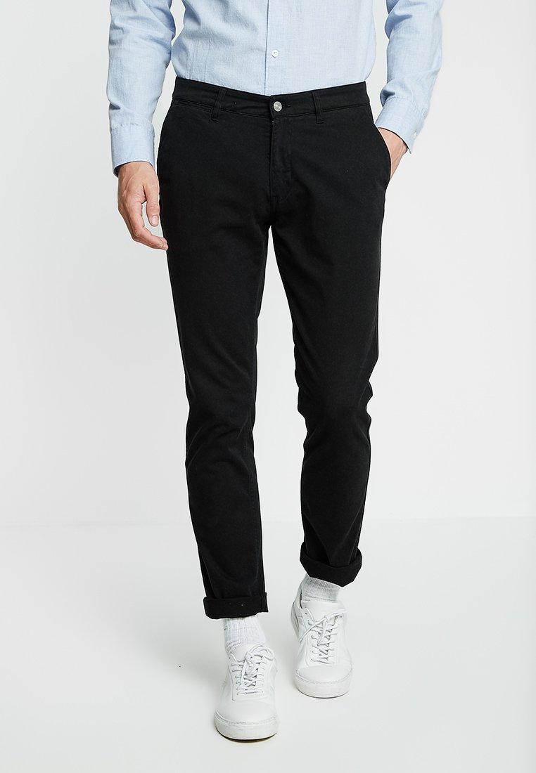 NN07 - MARCO - Pantalones chinos - black
