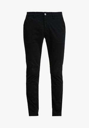MARCO - Pantalones chinos - black