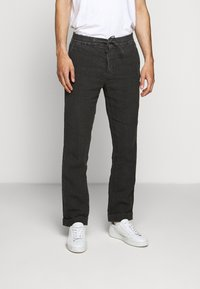 NN07 - Trousers - dark grey - 0