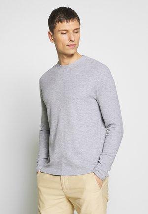 CLIVE - Long sleeved top - grey melange