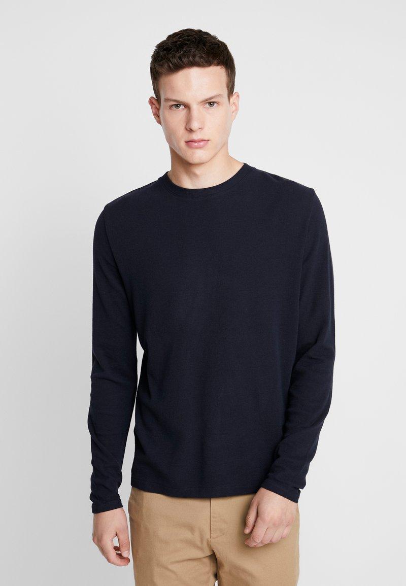 NN07 - CLIVE - Camiseta de manga larga - navy blue