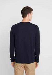 NN07 - CLIVE - Camiseta de manga larga - navy blue - 2