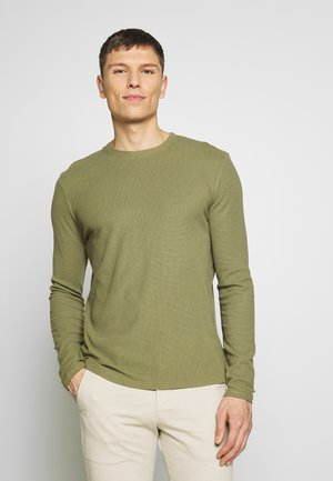 CLIVE - Long sleeved top - thyme