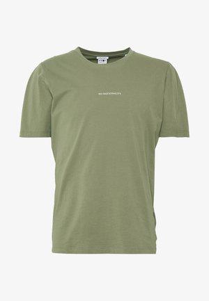 ETHAN PRINT TEE  - T-shirt basic - thyme