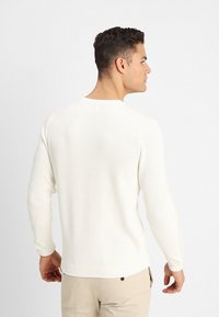 NN07 - PHIL - Strikpullover /Striktrøjer - off white - 2
