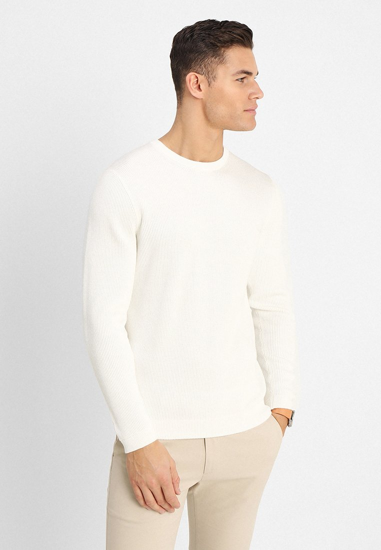 NN07 - PHIL - Strikpullover /Striktrøjer - off white