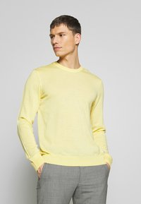 NN07 - TED - Stickad tröja - yellow - 0