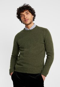 NN07 - ED DONEGAL - Strickpullover - army - 0
