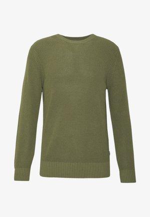 KNUT  - Stickad tröja - thyme