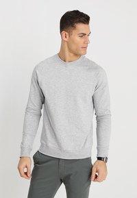NN07 - GEOFF - Sweater - light greymelange - 0