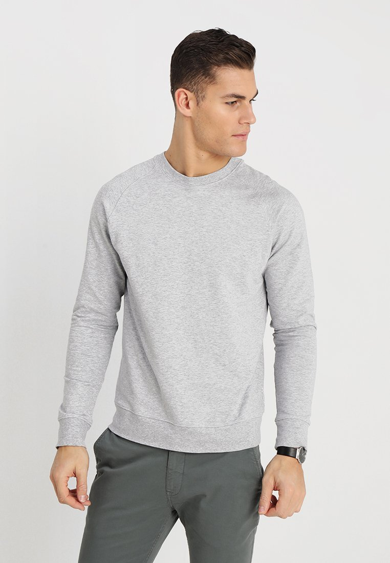 NN07 - GEOFF - Sweater - light greymelange
