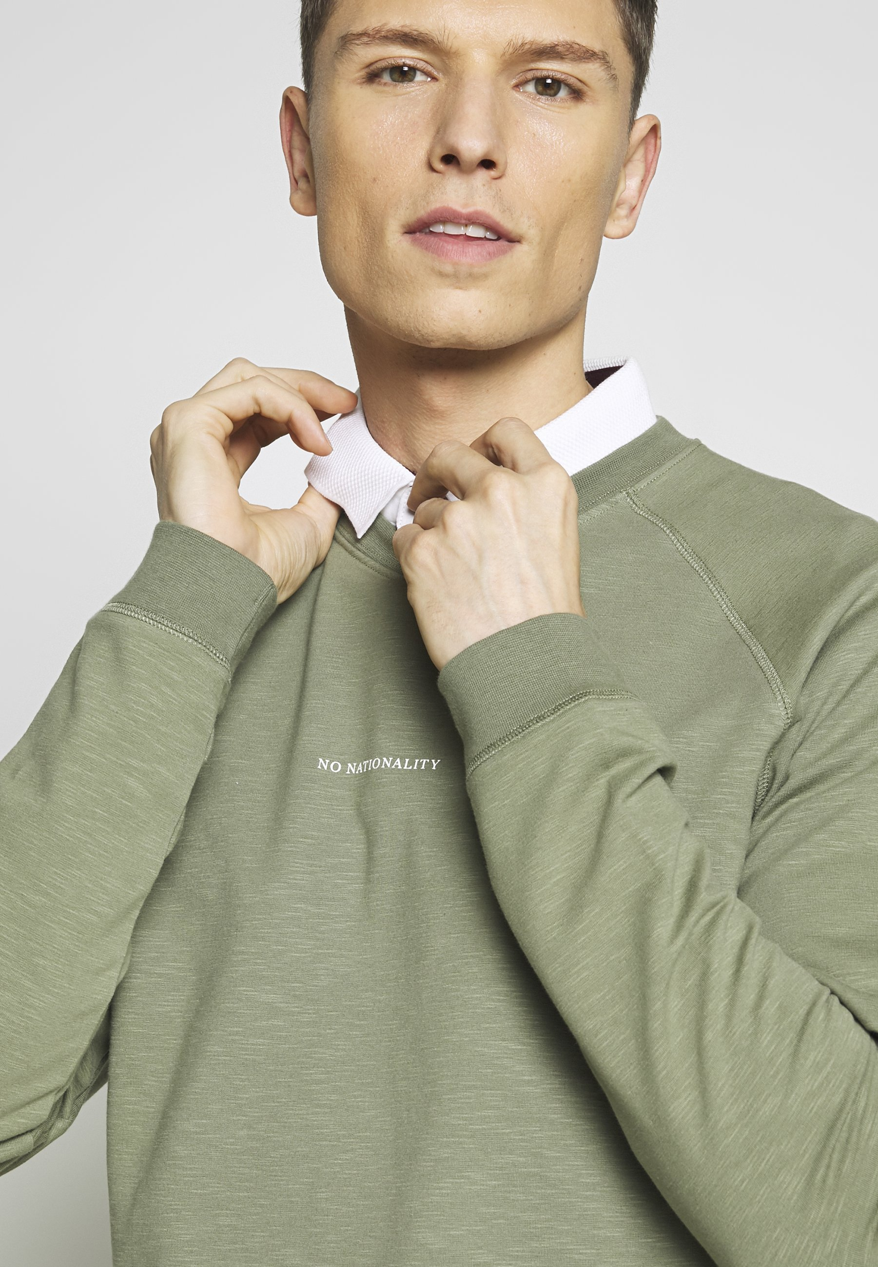 NN07 ROBIN Sweatshirt thyme Zalando.at