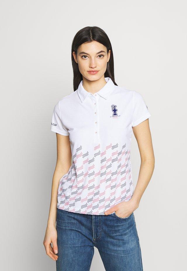 PRADA VALENCIA - Poloshirts - white
