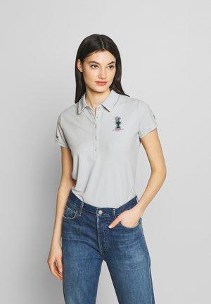 VALENCIA - Polo shirt - grey/violet