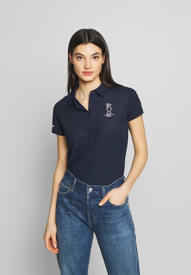 PRADA VALENCIA - Poloshirts - navy blue