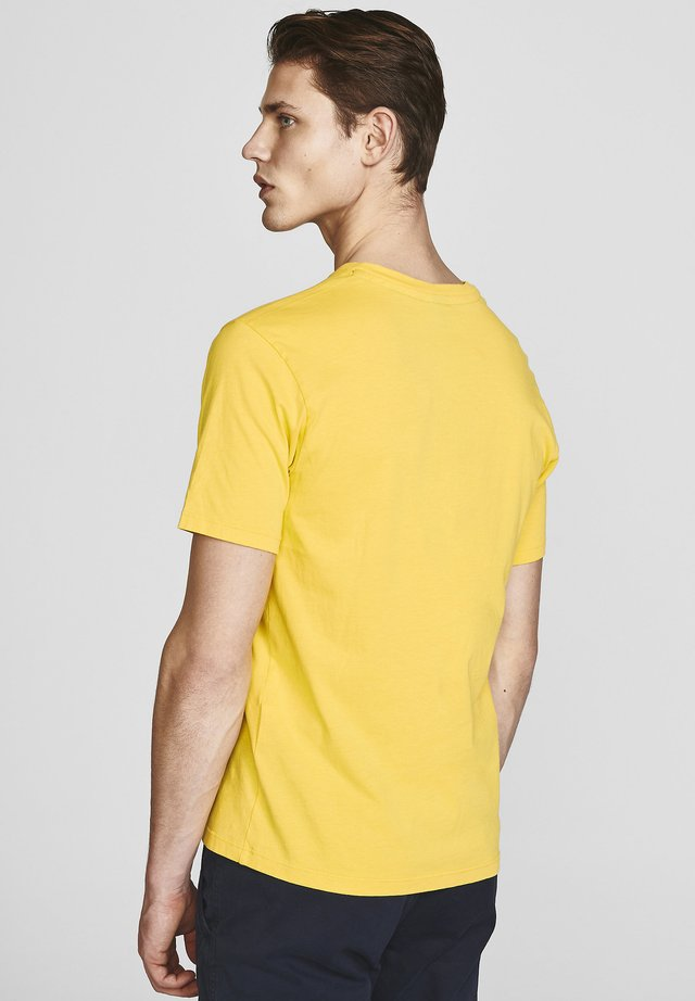 T-shirt basic - yellow
