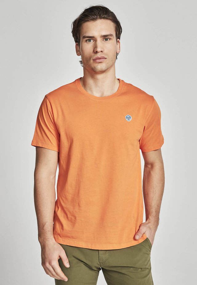 T-shirt basic - orange