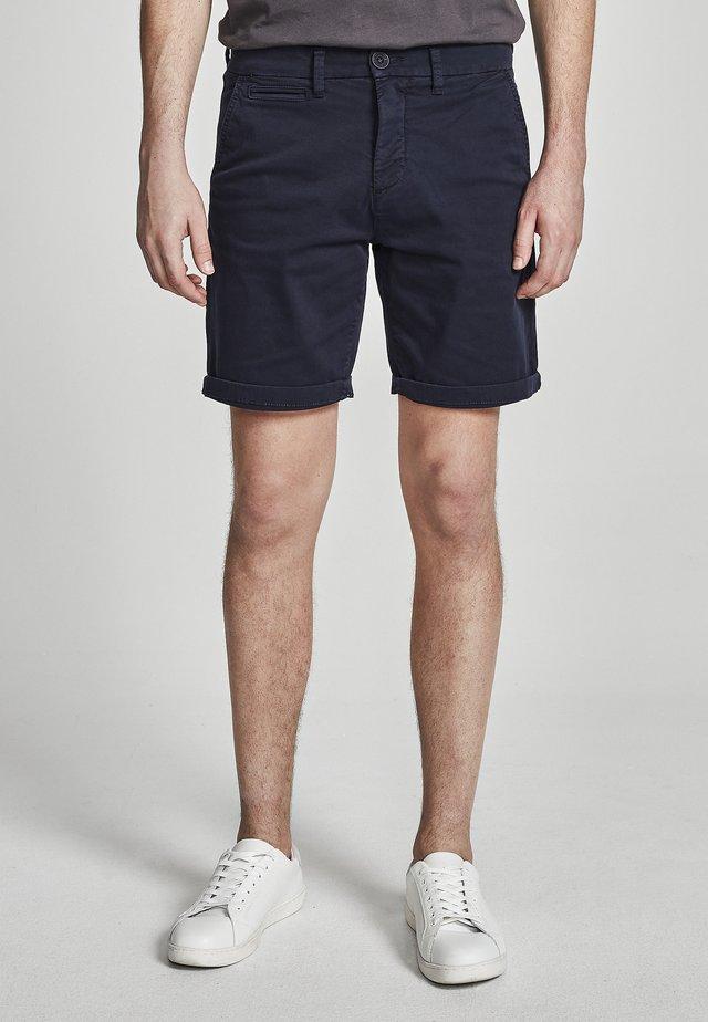 GABARDINE - Shorts - blue