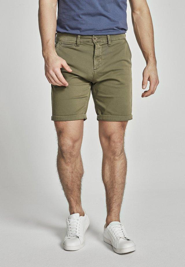 GABARDINE - Shorts - khaki