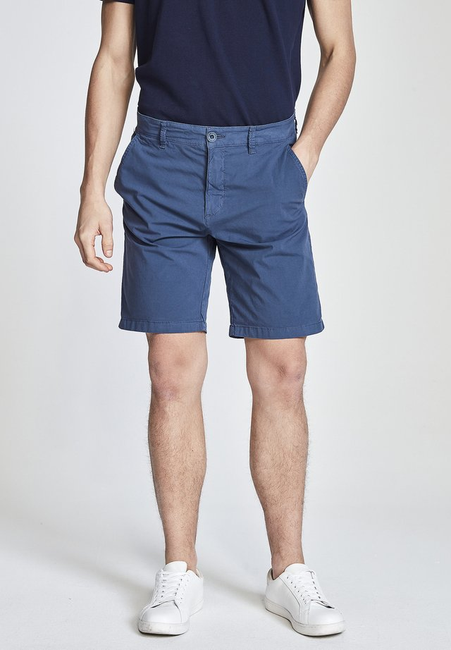 POPLIN - Shorts - blue