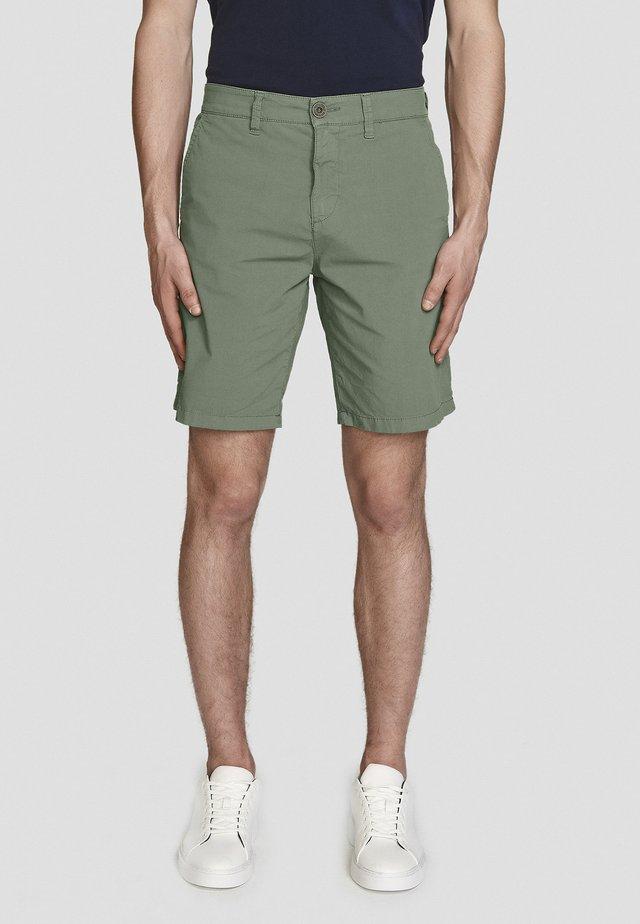 POPLIN - Shorts - green