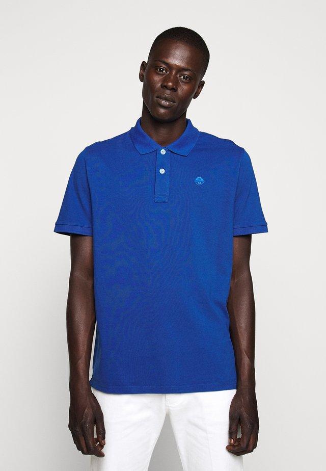 Poloshirts - ocean blue