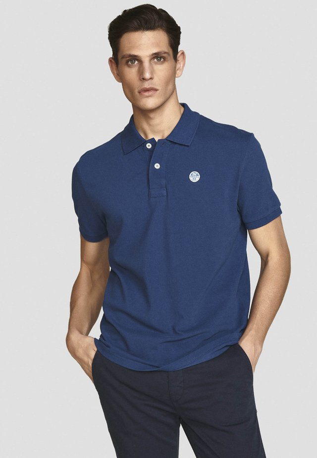 Polo - royal blue