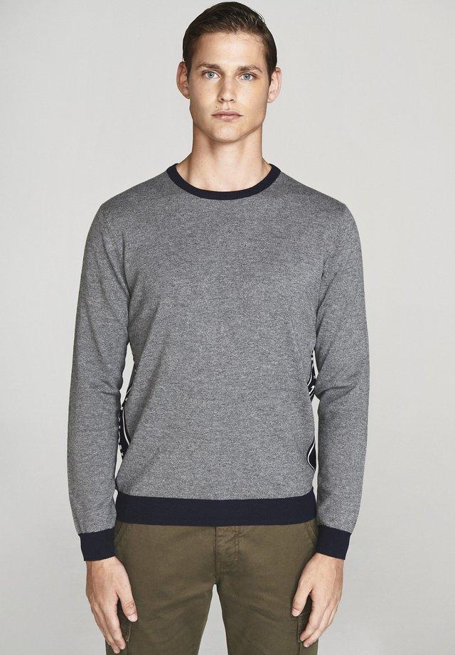 Jumper - medium grey melange