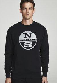 North Sails - Sweatshirt - black - 0