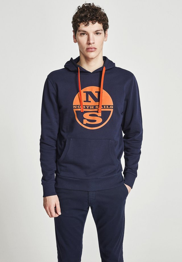 Sweat à capuche - navy blue