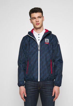 PRADA WINDCHEATER - Summer jacket - navy blue