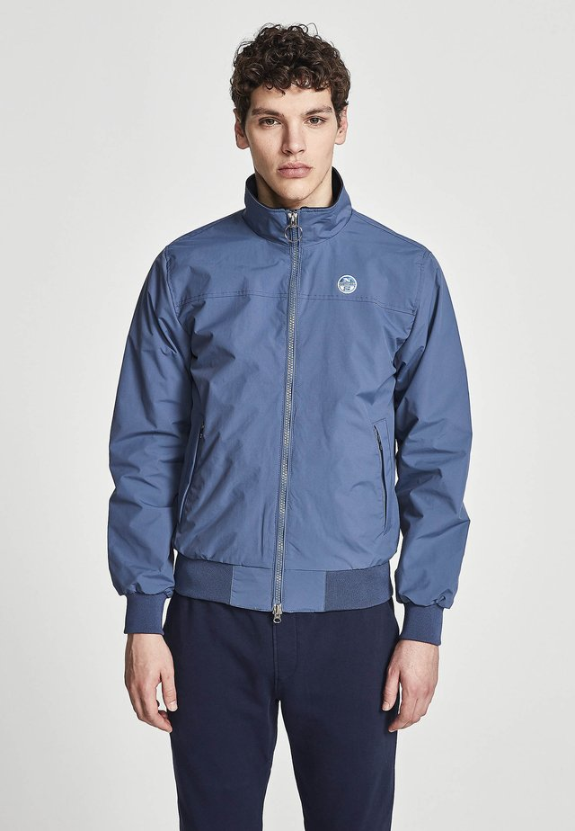 SAILOR - Giubbotto Bomber - blue