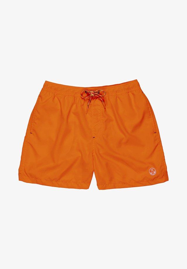 Short de bain - orange fluo