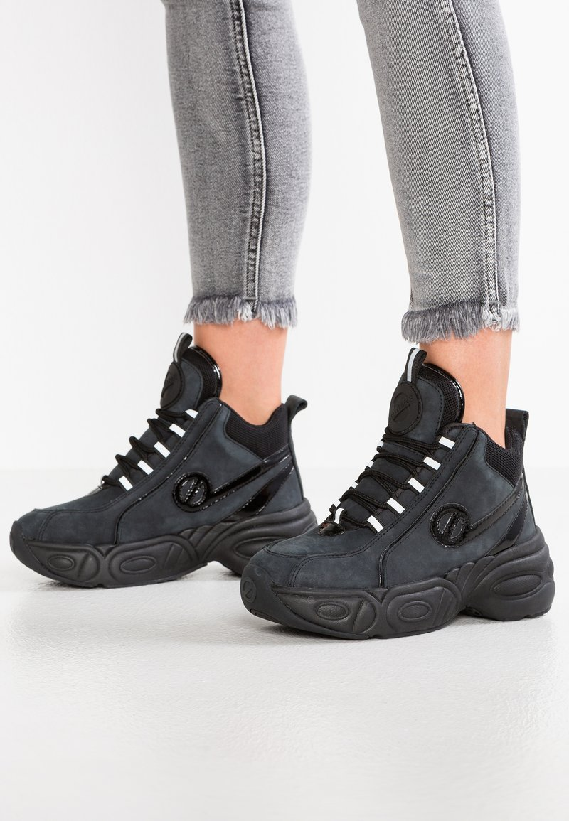 No Name - NITRO MID - High-top trainers - black