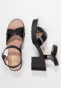No Name - TANGO ANKLE - Sandály na platformě - black - 3