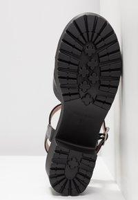 No Name - TANGO ANKLE - Sandály na platformě - black - 6