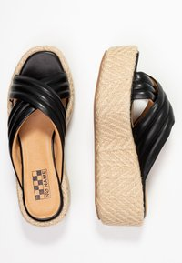 No Name - BETTY MULE - Pantofle na podpatku - black - 3