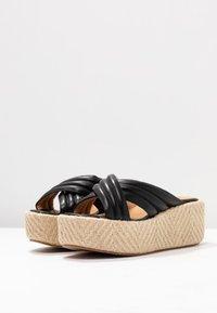 No Name - BETTY MULE - Pantofle na podpatku - black - 4