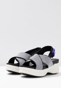 No Name - CONCRETE BAND - Korkeakorkoiset sandaalit - white - 4