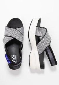 No Name - CONCRETE BAND - Korkeakorkoiset sandaalit - white - 3