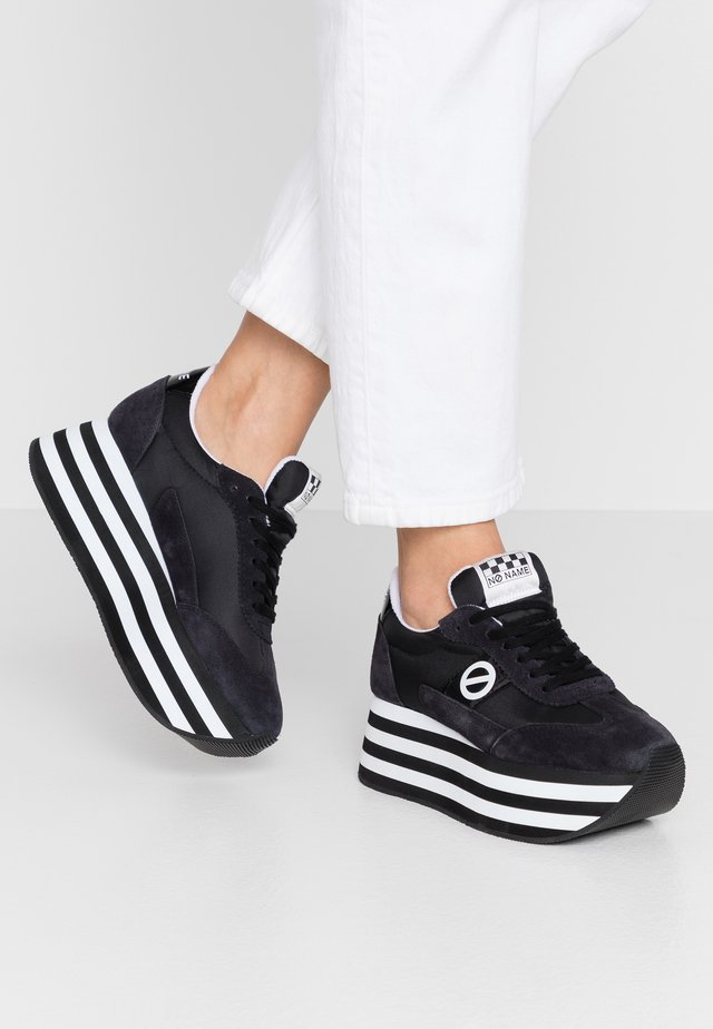 FLEX JOGGER - Sneakers laag - black
