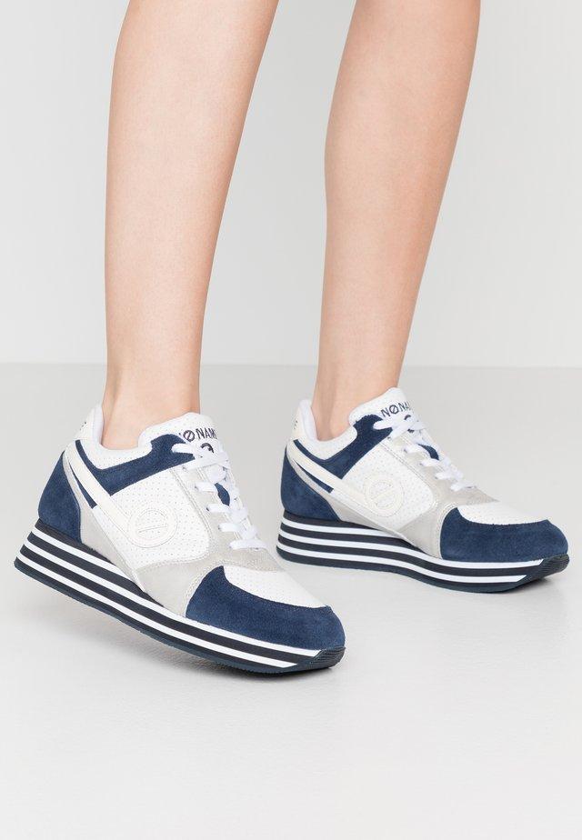 PARKO JOGGER - Sneakersy niskie - navy/silver