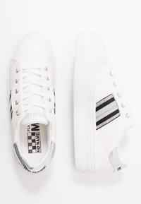No Name - PLATO DERBY - Trainers - white/silver - 3